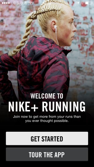 2 - Nike+ Running Welcome iPhone.png