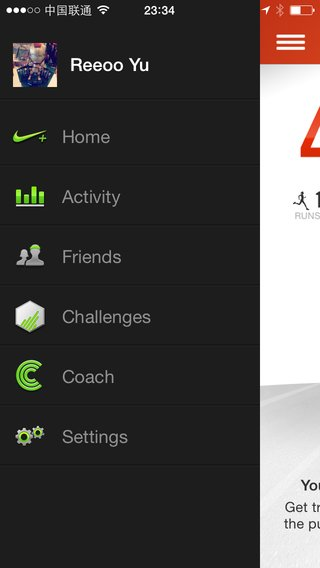 17 - Nike+ Running Sidebar iPhone.png
